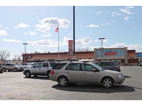 a Photograph of Mechanicville Price Chopper Plaza